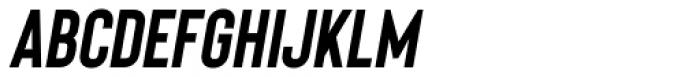 Bison Bold Itallic Font UPPERCASE