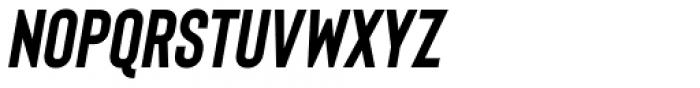 Bison Bold Itallic Font LOWERCASE