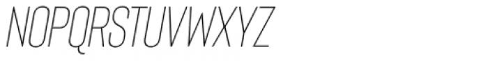 Bison Light Italic Font UPPERCASE