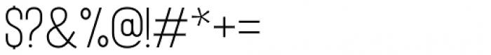Bison Regular Font OTHER CHARS