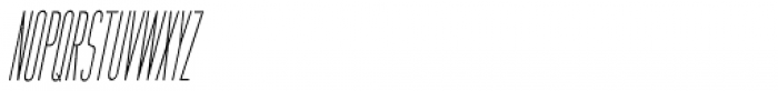 Bit Player Oblique JNL Font UPPERCASE