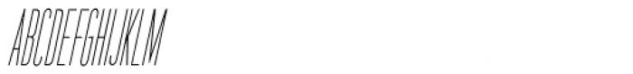 Bit Player Oblique JNL Font LOWERCASE