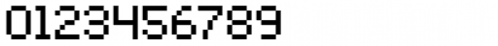 Bitblox Regular Font OTHER CHARS