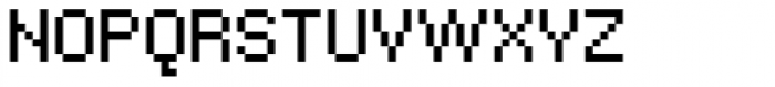Bitblox Regular Font LOWERCASE