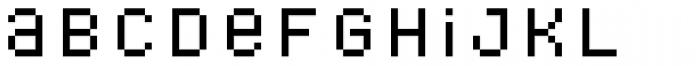 Bitblox Stackable Font LOWERCASE