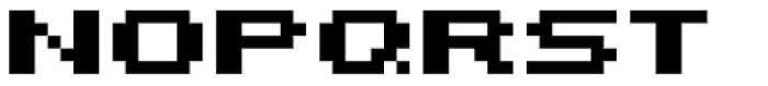 Bitrux AOE Bold Font UPPERCASE