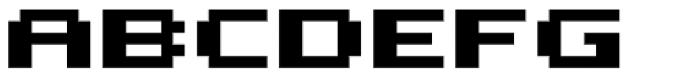 Bitrux AOE Bold Font LOWERCASE