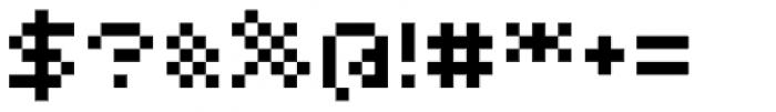 Bitrux AOE Font OTHER CHARS