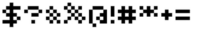 Bitrux B AOE Font OTHER CHARS