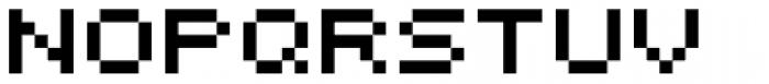 Bitrux B AOE Font LOWERCASE