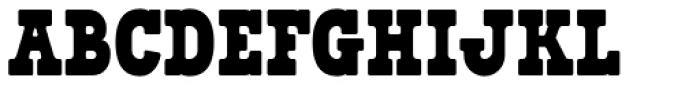 Bixa Black Font UPPERCASE