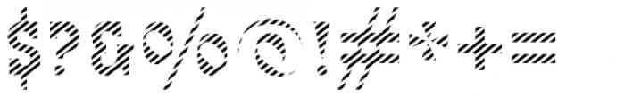 Bixa Stripe Font OTHER CHARS