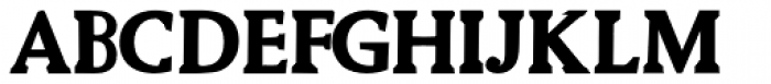Biza Bold Font UPPERCASE