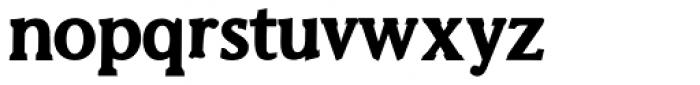 Biza Bold Font LOWERCASE