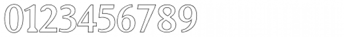 Biza Outline Font OTHER CHARS