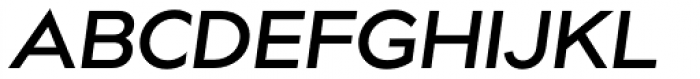 bill corp m3 SemiBold Oblique Font UPPERCASE