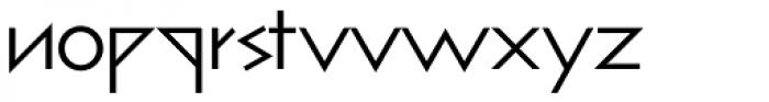 bill display lowercase Roman Font LOWERCASE