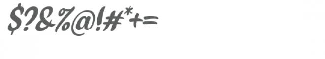 Bilang Font OTHER CHARS