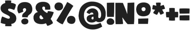 Bjola Regular otf (400) Font OTHER CHARS
