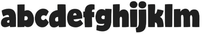 Bjola Regular otf (400) Font LOWERCASE