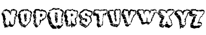 BJ SUGARCREEP Font UPPERCASE