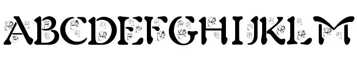BJF Angels Font UPPERCASE