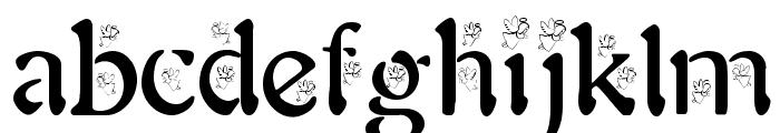 BJF Angels Font LOWERCASE