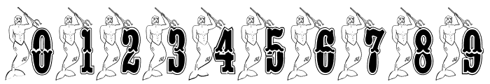 BJF Merman Font OTHER CHARS