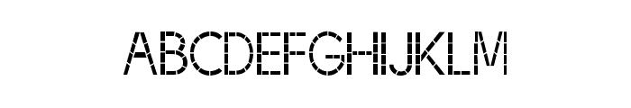 BJF Thread Font LOWERCASE