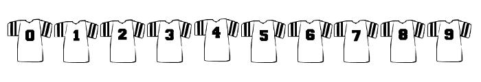BJFootball Font OTHER CHARS