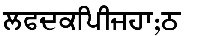 BJanmeja5A Font LOWERCASE