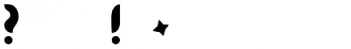 BK Bird Font OTHER CHARS