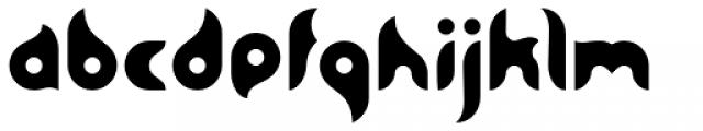 BK Bird Font LOWERCASE