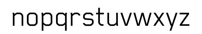 Blender Book Font LOWERCASE