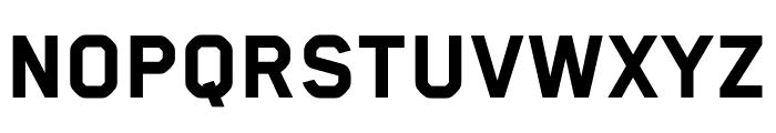 Blender Heavy Font UPPERCASE