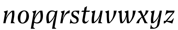 Bluu Suuperstar Variable Italic Font LOWERCASE