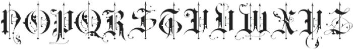 BLAQ otf (400) Font LOWERCASE