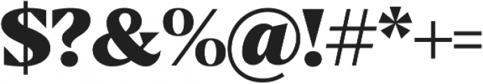 Blaak Black Black ttf (900) Font OTHER CHARS