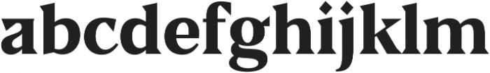 Blaak ExtraBold ExtraBold ttf (700) Font LOWERCASE