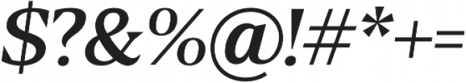 Blaak Light Light Italic ttf (300) Font OTHER CHARS