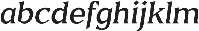 Blaak Light Light Italic ttf (300) Font LOWERCASE