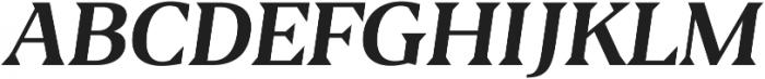Blaak Regular Regular Italic ttf (400) Font UPPERCASE