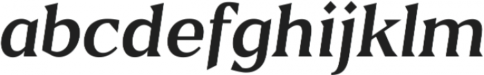 Blaak Regular Regular Italic ttf (400) Font LOWERCASE
