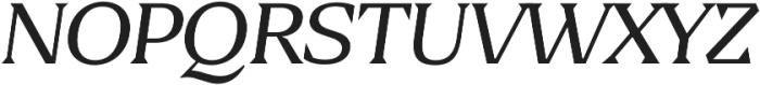 Blaak Thin Thin Italic ttf (100) Font UPPERCASE