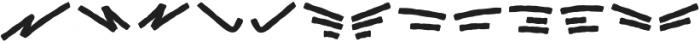 Black Animal Swash otf (900) Font UPPERCASE
