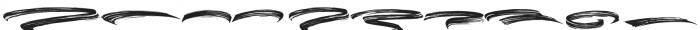 Black Bruno Swash otf (900) Font OTHER CHARS