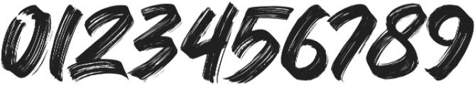 Black Bruno otf (900) Font OTHER CHARS