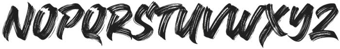 Black Bruno otf (900) Font LOWERCASE