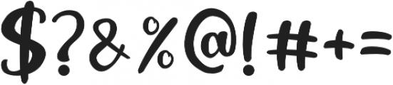 Black Catty otf (900) Font OTHER CHARS