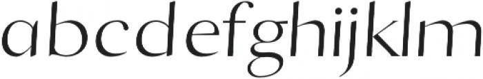 Black Cliffs Regular otf (900) Font LOWERCASE